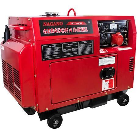 Conserto de geradores à gasolina