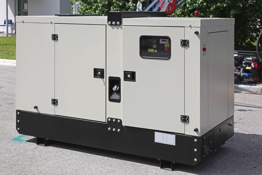 Gerador a diesel automático