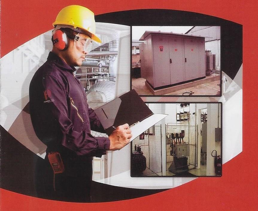 Manutenção cabine primária sp